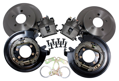 Ford 9 Inch Rear Explorer Disc Brake Kit With Shoe Style