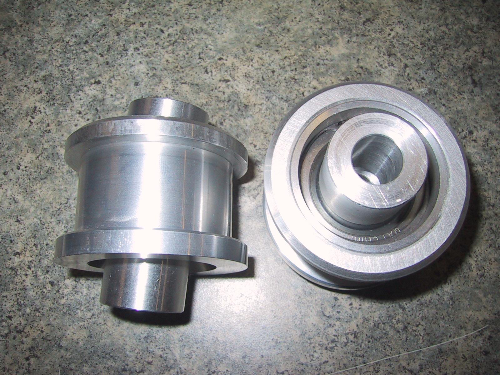 Aluminum Spherical Upper Control Arm Bushings (1 Pair)