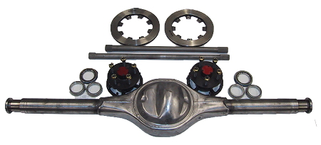 Bare Full Floating 9 Inch Housing Axle Hub Amp Rotor Package