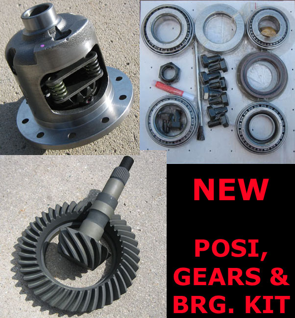 GM 55-64 Car (55P) / Posi / Gears / Bearing Kit
