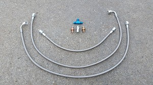 Brake Line Kit with fittings