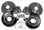 Ford 9 Inch Rear Explorer Disc Brake Kit With Shoe Style Park Brake
