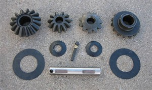 "GM 7.5"" 10 Bolt / Open Carrier Spider Gear Kit / 26 Spline"