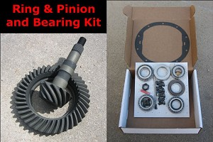 "GM 7.5"" 10 Bolt / Ring & Pinion Gear Set w/ Master Bearing & Install Kit"