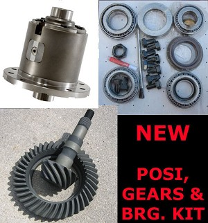 "GM 7.5"" & 7.625"" 10 Bolt / Eaton Detroit Truetrac Posi / Gears / Bearing Kit / Package"