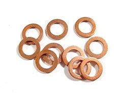 "Ford 8"" or 9"" Center Section Housing Copper Washers"