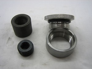 "9"" Ford Housing Drain & Fill plugs with Bungs"