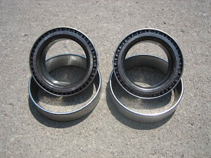 "Ford 9"" / Carrier Bearing & Race (Pair) / Conversion / 1.781"" I.D. / 3.250"" O.D."