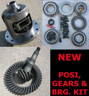 "GM 8.2"" 10 Bolt (Chevy) / Posi / Gears / Bearing Kit / Package"