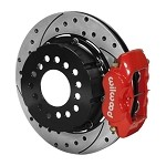 140-2118-DR Wilwood Big Ford New Style Forged Dynalite Pro Series Rear Brake Kit