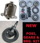 GM 12 Bolt Car / Eaton Detroit Truetrac Posi / Gears / Bearing Kit / Package