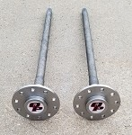 GM 12 Bolt Car / Custom Alloy C-Clip Axle Shafts / 30 Spline / 1967-1969 Camaro